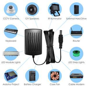 Image 2 - ZOSI تيار مستمر 12 فولت 2A الاتحاد الأوروبي الولايات المتحدة الاتحاد الافريقي المملكة المتحدة CCTV فيديو موائم مصدر تيار شاحن ل BNC كاميرا الأمن في الهواء الطلق نظام مراقبة بالفيديو