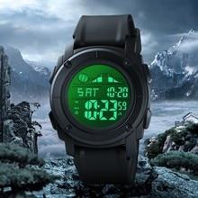 Модные мужские спортивные часы, водонепроницаемые, для отдыха на открытом воздухе, цифровые часы, для плавания, дайвинга, наручные часы, Reloj Hombre Montre Homme
