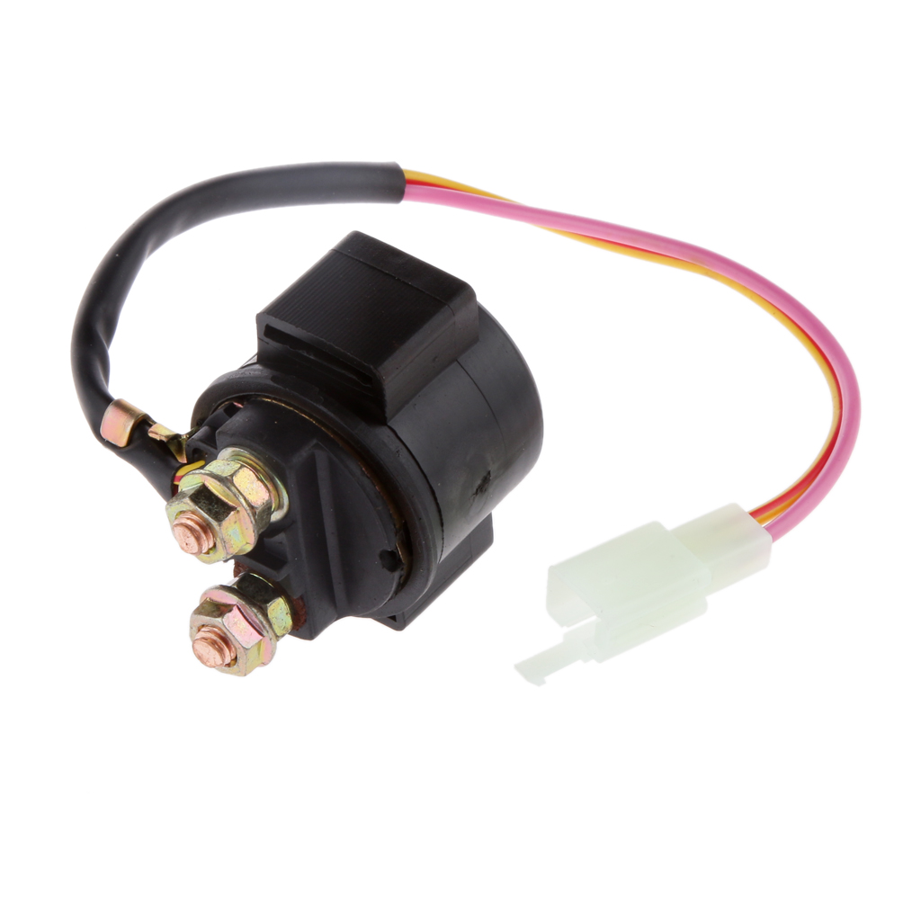 Starter Relay Solenoid for 50cc 125cc 150cc 250cc GY6 Scooter ATV