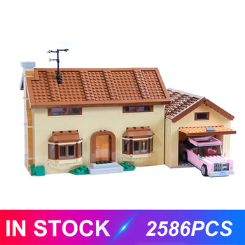 The 16004 16005 Kwik-E-Mart Simpsons House Compatible 71016 71006 Model Building Block Bricks Educational Toys Birthdays Gifts