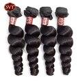 Волосы SVT 8-26 дюймов, среднее соотношение, свободные волнистые пучки, можно купить 3/4 пряди чков, Малазийские Пучки Волос, пучки человеческих ...