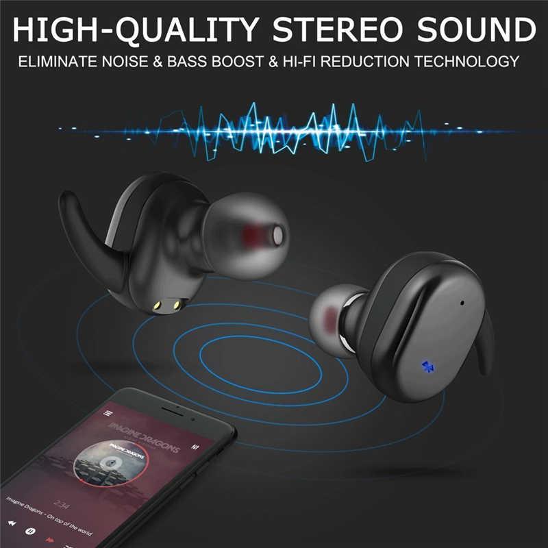 TWS の Bluetooth 5.0 ワイヤレスイヤホンスポーツイヤホン TWS4 ワイヤレス用ヘッドホンイヤホン Iphone の Huawei 社