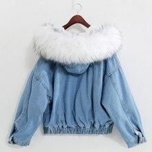 Новая теплая зимняя куртка, женское осеннее пальто с капюшоном, женские джинсовые куртки, базовый женский топ, Женская куртка-бомбер, Женска...
