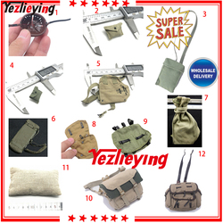 DRAGON 1:6 scale accessories WWII Action Figure Military Parts - Backpack Map Pack Bag Helmet Cover DAM 12