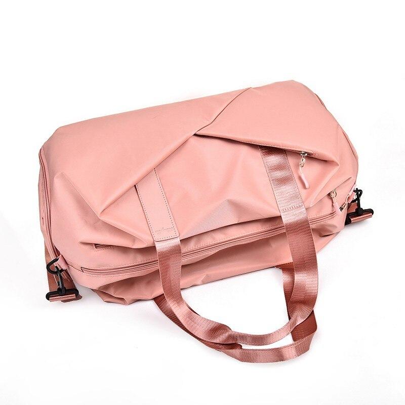 Woen 39 s Fashion handbag Travel Bag Waterproof Nylon Large Capacity Travel Duffle Multifunction Tote Casual Crossbody Bags in Travel Bags from Luggage amp Bags
