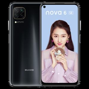 Image 3 - Orijinal HUAWEI Nova 6 SE SmartPhone 6.4 inç Kirin 810 Octa çekirdek Android 10.0 GPU Turbo yüz kilidini