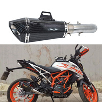 Motorcycle Exhaust Full System For KTM RC390 DUKE 390 DUKE 125 2016 2018 RC 390 with exhaust with db killer