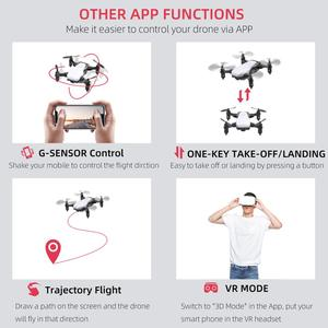 Image 5 - PEGI Mini RC Drone with Camera HD 1080P FPV Wifi Remote Control Professional Quadcopter Pocket Selfie Drones Toy Gift for Kids