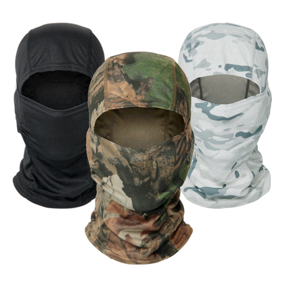 Multicam Military Balaclava Print Full Face Shield Hunting Fishing Camping Cycling Helmet Liner Cap Tactical Camouflage Scarf()