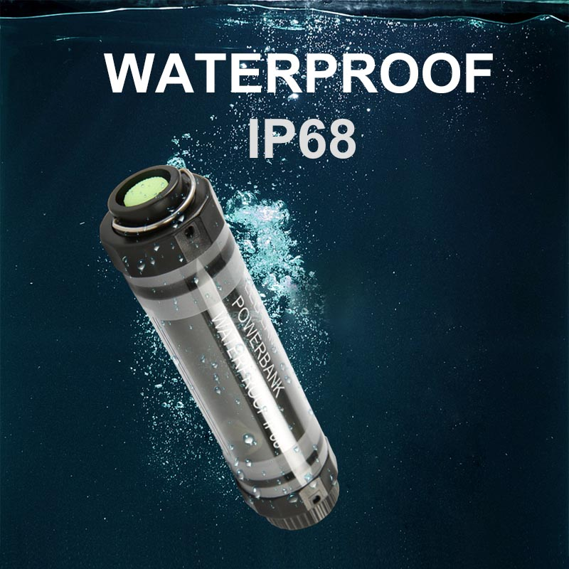 Waterproof Outdoor Led Camping Light Power Bank USB Rechargeable Camping Equipment 5 Levels Dimmable Night Light With Mounting