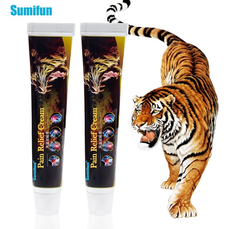 Sumifun 1 шт. Sumifun тигр бальзам для облегчения боли мазь ревматоидный артрит лечение суставов спины эффективный анальгетический крем
