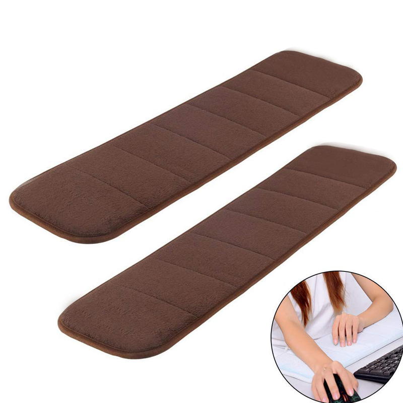 Memory Sponge Wrist Elbow Mat  Sweat-absorbent Anti-slip Cushion Keyboard Comfortable Foam Pad For Office Desktop Computer Table
