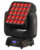 25x15W Matrix LED Moving Head Blinker Light para DJ Disco Stage Effect Wedding|Efeito de Iluminação de palco| |  -