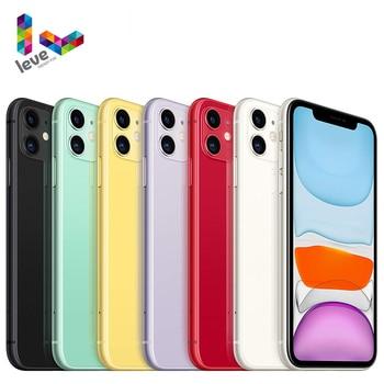 Apple iPhone 11 Original iOS Mobile Phone 6.1inch A13 Bionic 4GB RAM 64GB/128GB/256GB ROM Hexa Core 12MP NFC 4G LTE Cellphone 1