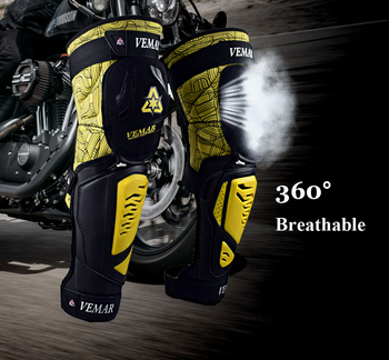 Motorcycle Knee pads Moto Motocross Racing Shin Guards Full protection Gear Riding Knee Protector Pads Motorcycle Knee Slider 5