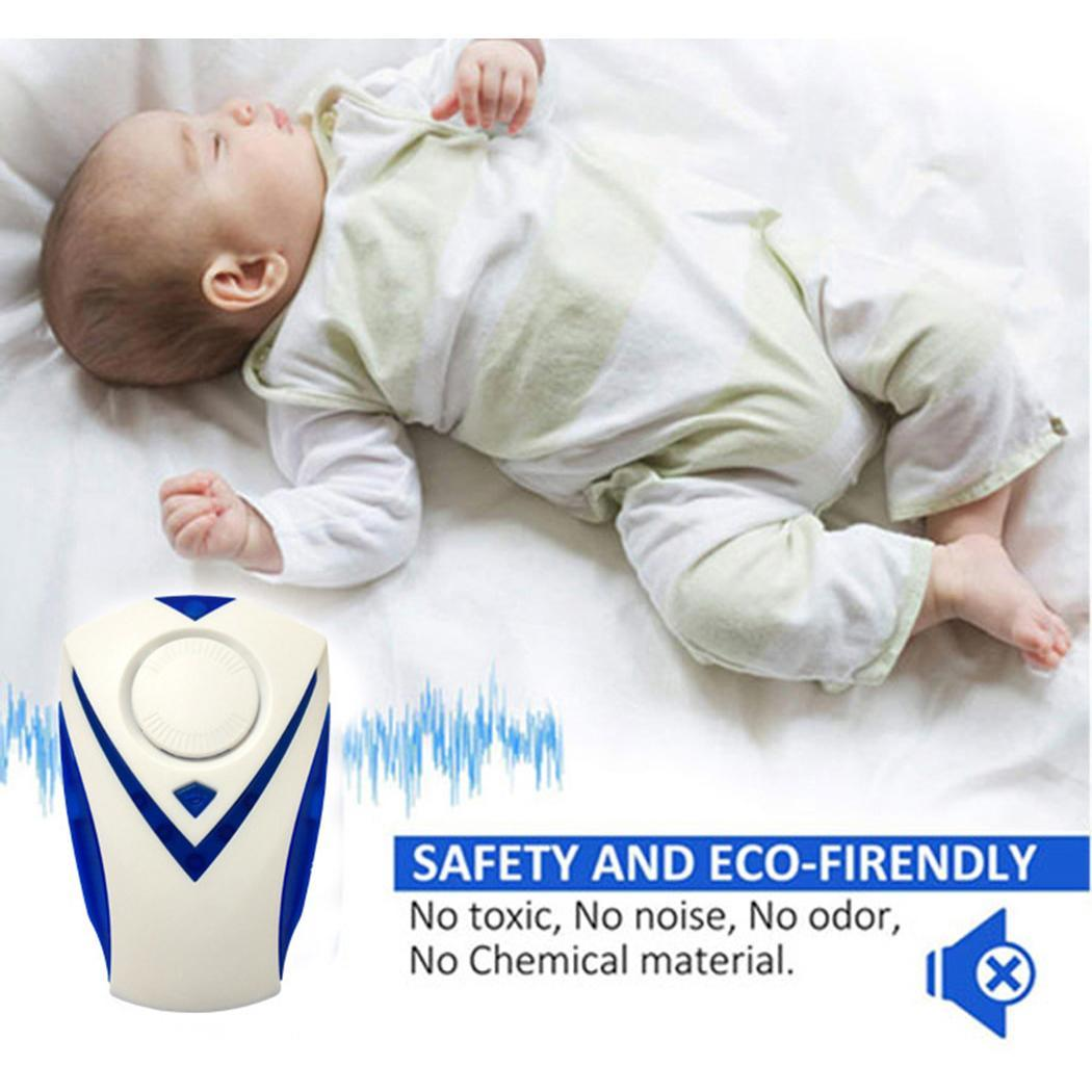 Mosquito-Repellent Pest Ultrasonic Household Blue EU 6-8W 90-250V Multi-Function 50-60HZ
