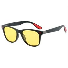 Hand Made Frame Polarized Night Vision Glasses For Driving Minus Myopia Sunglasses Custom Prescription -1 To-6