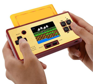 Portable Handheld Game Console Pocket Game Player Built in 89 Games 8 Bit Classic Retro 8 in 1 Card for kid