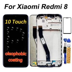 Image 1 - 6.22 นิ้วจอแสดงผล LCD สำหรับ Xiaomi Redmi 8 Touch Screen Digitizer กรอบ 1520*720 สำหรับ Xiaomi Redmi 8A LCD Repair Part
