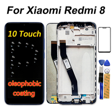Xiaomi redmi 8 터치 스크린 디지타이저 프레임에 대 한 6.22 인치 lcd 디스플레이 xiaomi redmi 8a lcd 수리 부품에 대 한 1520*720 어셈블리