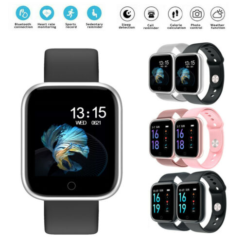 New Smart Watch Activity Fitness Tracker Heart Rate Blood Pressure Measurement Smart Wristband Women Men For Fitbit Android iOS