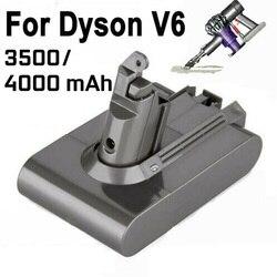 4000mAh 3500mAh Li-ion aspiradora Dyson batería para batería V6 DC58 59 61 62 72 74 Aspiradora reemplazo de la batería