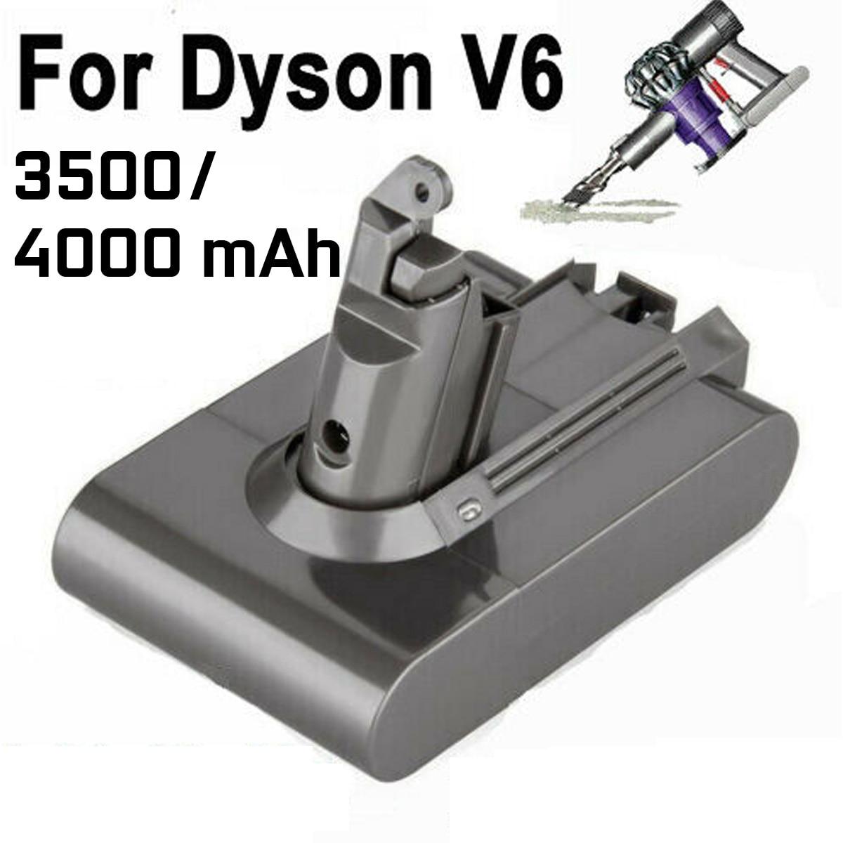 Batterie d'aspirateur Li-ion 4000mAh 3500mAh pour batterie Dyson V6 DC58 59 61 62 72 74 batterie de remplacement d'aspirateur