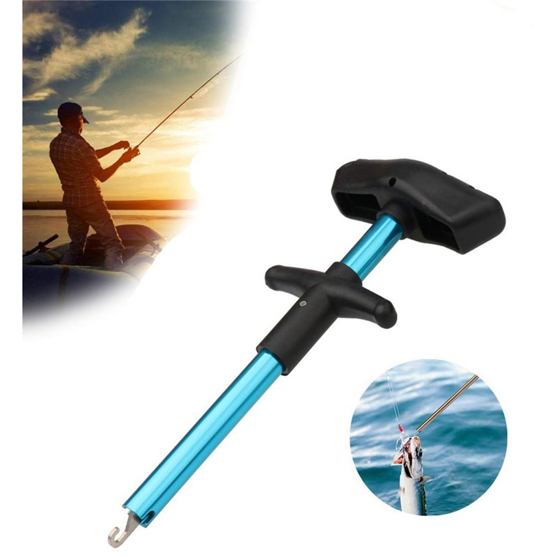 Portable T-type Fish Hook Remover Hooks Extractor Tools Special Fishing Gear Supplies Fishing Tool