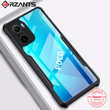 Rzants For Xiaomi POCO F3 Redmi K40 Redmi K40 Pro Case Hard [Beetle] Hybrid  Slim Clear Crystal Cover Thin