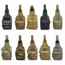 US Warehouse Military Tactical Bag Men Nylon Cross Shoulder Bags for Outdoor Hiking Camping Travel 600D Oxford Backapack Droship