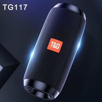 Portable Speaker Wireless Bluetooth Speakers TG117 Soundbar Outdoor Sports Waterproof column Music center system caixa de som