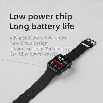 LEMFO Iwo mini PK DT100 PLUS W37 Smart Watch Men Women IP68 Waterproof Health Monitoring H13B Smartwatch 2021 For Apple Iwo W26 4