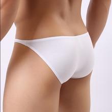 Cotton men's underwear briefs sexy solid color jockstrap men underpants with low