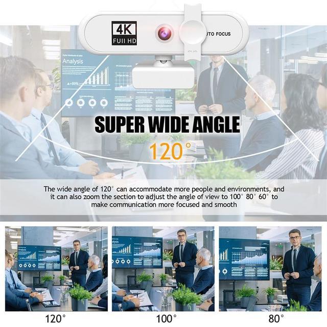 Купить новинка full hd 4k 2k 1080p веб камера 120 градусов автофокус картинки