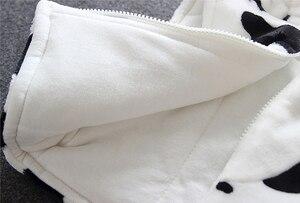Image 5 - Cho bé Gái Mùa Đông Áo Ấm Lông Thú Giả Lông Cừu Trẻ Em Áo Khoác Tai Thỏ Mũ Trùm Áo Khoác Ngoài Áo Khoác Trẻ Em cho Bé Gái Quần Áo