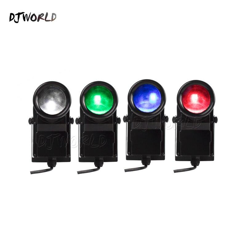 DJworld Wireless Remote Control Mini LED Spotlight10W Lighting Mirror Ball For Disco Light DJ Party Dance Floor Bar
