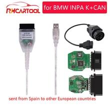 OBD2 для BMW INPA K+ CAN с переключателем FTDI FT232RL чип OBD2 кабель диагностический INPA K+ DCAN Поддержка K линии для BMW от 1998 до 2013