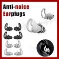 1 пара, мягкие силиконовые затычки для ушей, защитные затычки для путешествий, учебы, сна, храпа, водонепроницаемые, анти-шум, защита для ушей,...