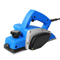 220V 1000W Wood Hand Planer Carpenter Woodworking DIY Wood Surface File Tools Powerful Electric Planer 82mm