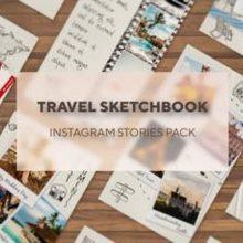 Travelers Sketchbook InstagrX Stories Pack - 24352947 Download Videohive