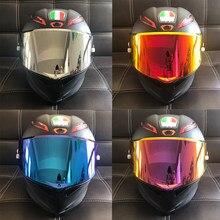 8-color capacete da motocicleta viseira de sol para agv pista gp rr corsa r gpr 70th aniversário