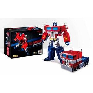 Image 1 - التحول G1 OP قائد النحل معركة نماذج من الشاحنات جيب صغير الحرب عمل الشكل روبوت الأولاد مشوهة اللعب الهدايا