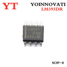 2500 teile/los LM393DR LM393D LM393 IC DUAL DIFF COMP 8 SOIC 1LOT = 1Reel