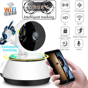 CCTV 1080P IP Camera Home Security Surveillance Camera Auto Tracking Network WiFi  PanTilt Wireless Baby Monitor CloudSD store