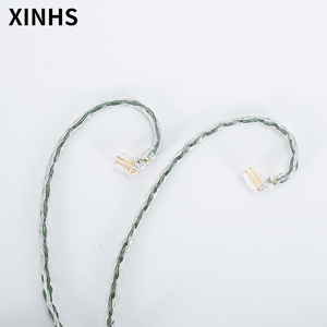 Image 4 - 24 Strands Silver Plated Copper Earphone Cable MMCX/0.78mm 2 Pin/QDC/TFZ HIFI Headphone Upgrade Cable For SE535 UE900S