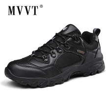 MVVT Microfiber Leather Shoes Men Outdoor Autumn Casual Walking Anti-Skidding Breathable Flats