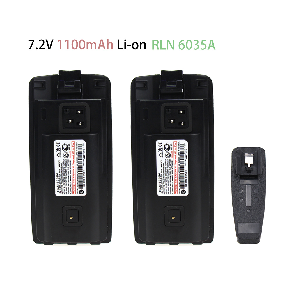 2X Substituted Battery For Motorola Two-Way Radio A10, A12, CP110, EP150