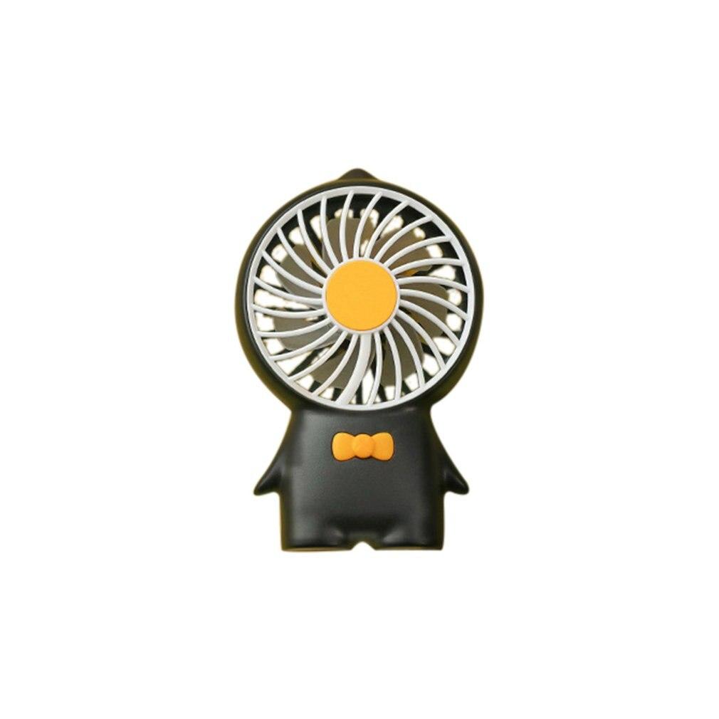 Handheld Mini Fan Cute Cartoon Animal USB Hand-held Desk Fan Cooler Handheld Air Conditioner Cooling Fan Summer Air Conditioner Cooler