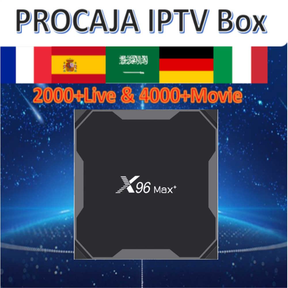 X96 max + Android 9.0/S905WX3/double wifi/8 K HDR + Smart Tv box & pro neo iptv procaja iptv abonnement France espagne arabe Portugal