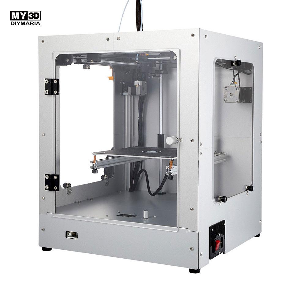 DIY nowa struktura krzyżowa drukarka 3d 360W power HD ekran drukarka FDM aluminiowa struktura 205*205*245mm Ultimaker2 UM2